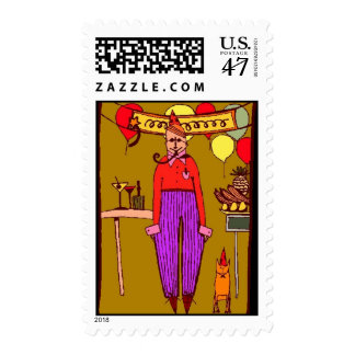 """Stamps to match Party Invitation """"Life's a Party"""""""