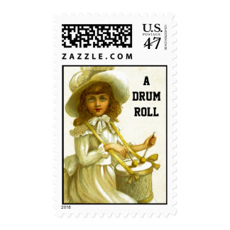 Stamps Victorian Drummer Girl A therefore roll Sna