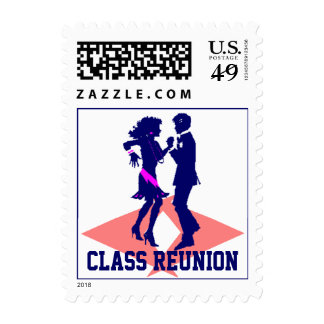 Stamps Vintage Couple Dance Prom Class Reunion