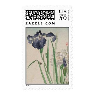 Stamps-Vintage Japanese Art-Hanashōbu Postage