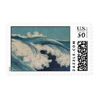 Stamps-Vintage Japanese Art-Konen Uehara 2 Postage