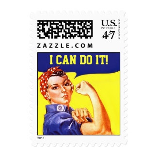 Stamps Vintage Rosie The Riveter Promo I Can Do It