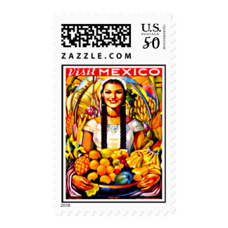 Stamps-Vintage Travel-Mexico Postage
