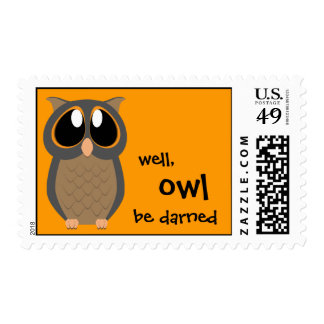 Stamps - well, OWL be darned