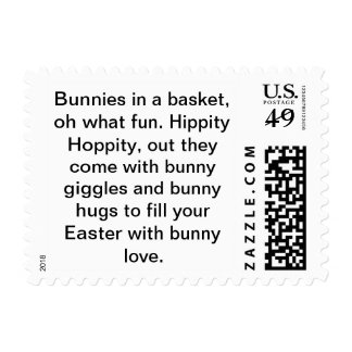 Stamps with an Easter message