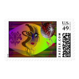 StampTrompe l'oeil-V-1 Postage Stamps