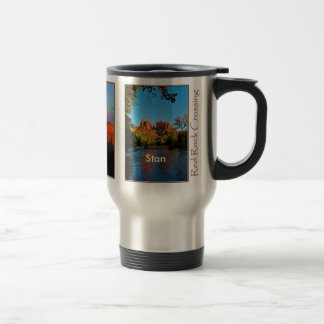 Stan on Red Rock Crossing Mug