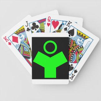 Stan Tech Logo Phosphor Green Card Decks