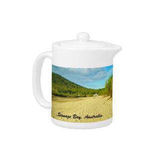 Stanage Bay Australia teapot