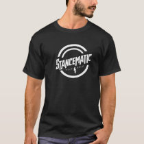 STANCEMATIC BLACK AND WHITE T-SHIRT