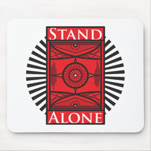 stand alone mouse pad zazzle. Black Bedroom Furniture Sets. Home Design Ideas