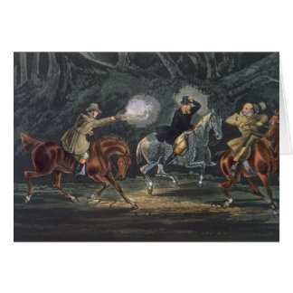 Stand and Deliver, aquatinted by E. Duncan Greeting Card