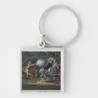 Stand and Deliver, aquatinted by E. Duncan Keychain