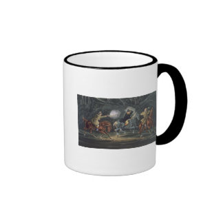 Stand and Deliver, aquatinted by E. Duncan Ringer Mug