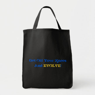 Stand And Evolve Tote Bag