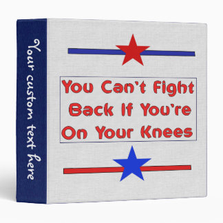 Stand and Fight Binder