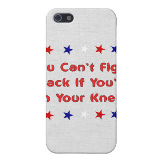 Stand and Fight iPhone SE/5/5s Cover
