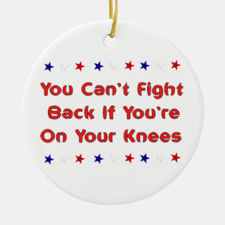 Stand and Fight Christmas Ornaments
