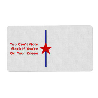 Stand and Fight Shipping Label