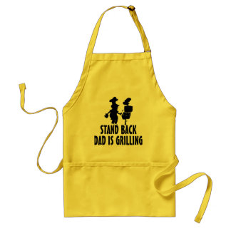 Stand Back Adult Apron