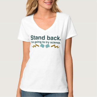 Stand back. I'm going to try science (Dark design) Shirt