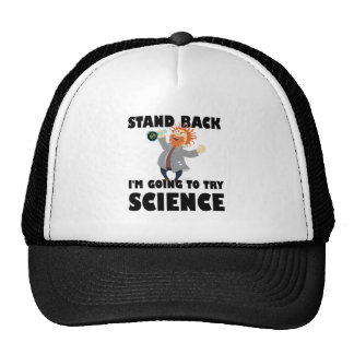 Stand Back I'm Going To Try Science Trucker Hat