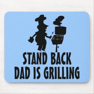Stand Back Mouse Pad