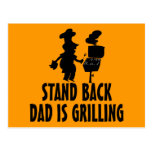 Stand Back Postcard