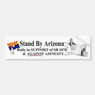 Stand By Arizona Bumper Sticker
