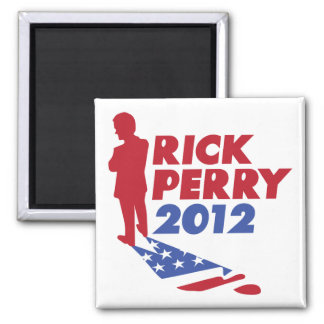 Stand by Rick Perry 2012 Refrigerator Magnet