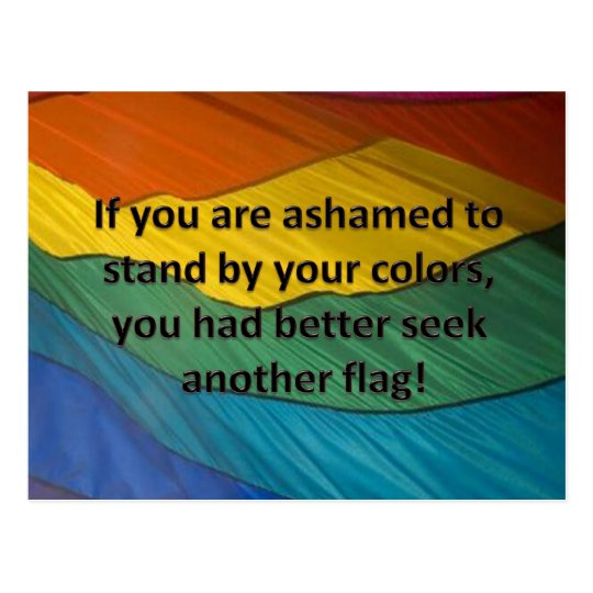 Stand By Your Flag Postcard