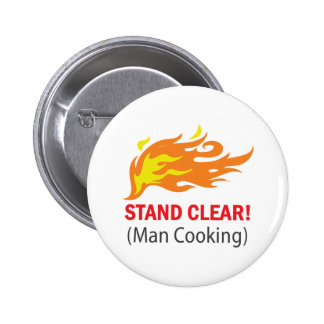 Stand Clear! 2 Inch Round Button