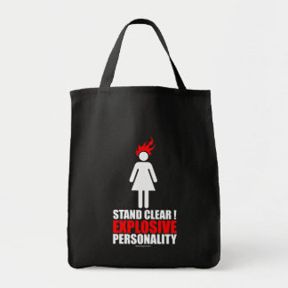 Stand clear! explosive personality bags