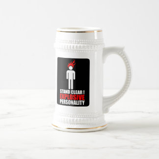 Stand clear! explosive personality coffee mugs