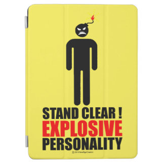 Stand clear! explosive personality iPad air cover