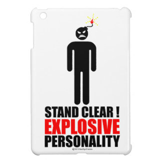 Stand clear! explosive personality iPad mini covers