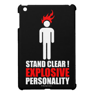 Stand clear! explosive personality iPad mini cases