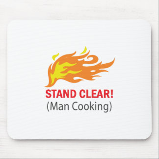 Stand Clear! Mouse Pad