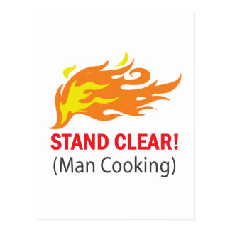 Stand Clear! Postcard
