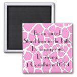 stand firm in the faith bible verse magnets