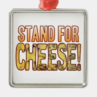 Stand For Blue Cheese Metal Ornament