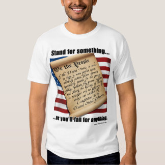 Stand for something t-shirts