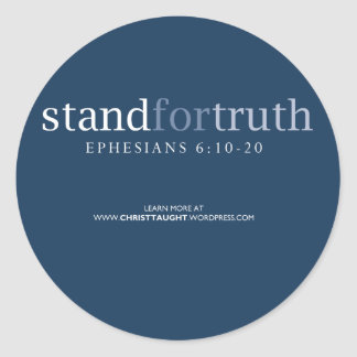 Stand for Truth Sticker