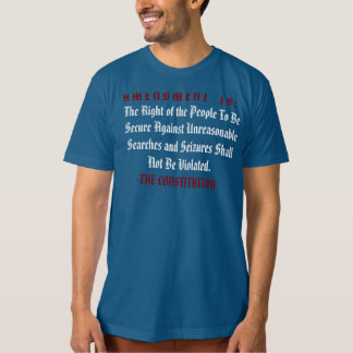 Stand For Your Rights: The F* The TSA Travel Shirt
