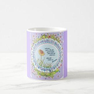 Stand Like a Flower Lilac Mug