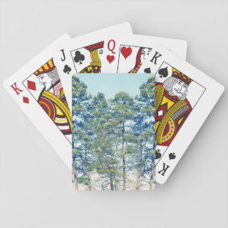 Stand Of Trees Playing Cards