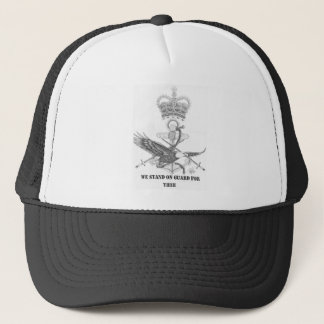 stand on guard for thee trucker hat