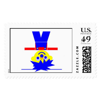 Stand on ones head Sofus Postage Stamp