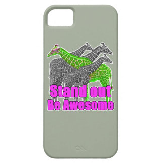 Stand out and be Awesome iPhone SE/5/5s Case