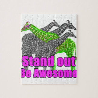 Stand out and be Awesome Jigsaw Puzzle